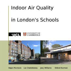 Indoor air quality in London's schools
