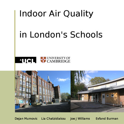Indoor air quality in London's schools