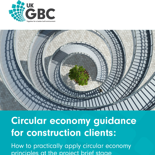 Circular economy guidance for construction clients